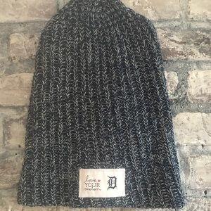 Detroit Love your Melon Slouchy knit beanie hat